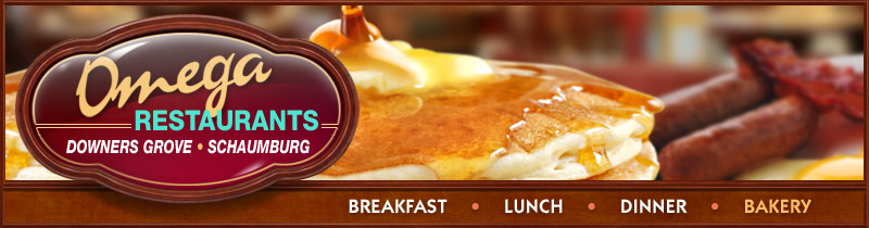 Visit Omega Pancake House Restaurants website