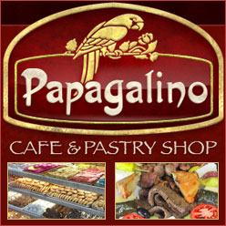 Papagalino Pastry Shop Cafe in Niles