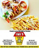 Hubs Restaurant in Skokie, Ribs, Gyros, Burgers
