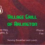Village Grill Restaurant in Arlington Heights