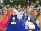 Happy participants - Big Greek Food Fest, Niles