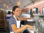 Hard working volunteer - Big Greek Food Fest, Niles