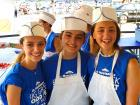 Hard working volunteers - Big Greek Food Fest, Niles