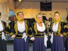 Dance troupe members - Big Greek Food Fest, Niles