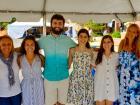 Welcome committee - Big Greek Food Fest, Niles