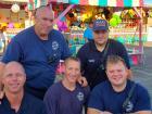 Fire and emergency crew - Big Greek Food Fest, Niles
