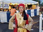 Dionysos dance troupe member - Big Greek Food Fest, Niles