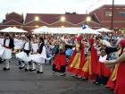 The Dionysos dance troupe - Big Greek Food Fest, Niles