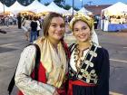 Dionysos dance troupe members - Big Greek Food Fest, Niles