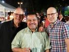 WGN's Dean Richards and friends - Big Greek Food Fest, Niles