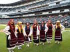 Neolea Hellenic Dancers - Chicago White Sox Greek Heritage Night