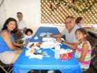 Happy participants - Glenview Greek Fest at Sts. Peter & Paul