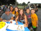 Happy participants - Glenview Greek Fest at Sts. Peter & Paul