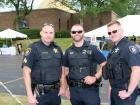 Police officers -  Glenview Greek Fest at Sts. Peter & Paul