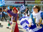 Happy participants - Greek Independence Day Parade Chicago