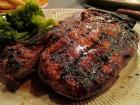 Prime New York Steak served at Jameson's Charhouse - Valentine's Day