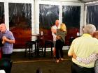 Couples dancing at Johnny's Kitchen & Tap Octoberfest in Glenview