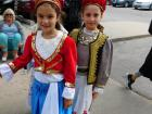 Youth dance troupe, Lincoln Park Greek Fest Chicago