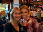 Friendly staff at Bella Cain show - Niko's Red Mill Tavern in Woodstock