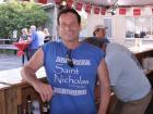 Hard working volunteer - Oak Lawn Greek Fest at St. Nicholas