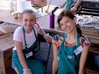 Hard working volunteers - Oak Lawn Greek Fest at St. Nicholas