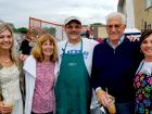 Friends and staff - Oak Lawn Greek Fest at St. Nicholas