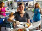 Hard working volunteer - Palos Hills Greek Fest
