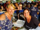 Hard working volunteers - Palos Hills Greek Fest