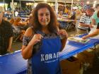 Hard working volunteer - Palos Hills Greek Fest