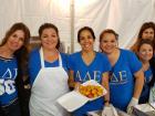 Hard working volunteers - St. Demetrios Greek Fest, Elmhurst