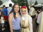 Friendly dance performer and friend - St. Demetrios Greekfest (Elmhurst)