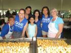 Hard working volunteers, St. Demetrios Greekfest (Elmhurst)