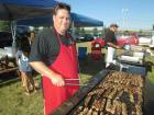 Hard working volunteer - St. Demetrios Greekfest Libertyville