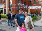 Happy participants - St. Demetrios Lincoln Square Greekfest, Chicago