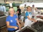 Hard working volunteers - St. Nectarios Greekfest, Palatine