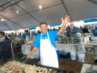 Hard working volunteer - St. Nectarios Greekfest, Palatine