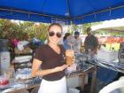 Hard working volunteer - St. Sophia Greekfest, Elgin