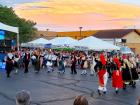 Agape dance troupe performing - St. Sophia Greekfest, Elgin