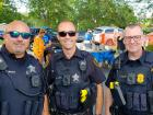 Police officers - St. Sophia Greekfest, Elgin