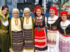 Agape dance troupe members - St. Sophia Greekfest, Elgin
