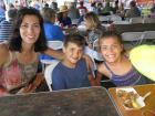Happy participants - St. Sophia Greekfest, Elgin