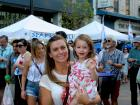 Happy participants, Taste of Greektown in Chicago