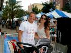 Lou Canellis & family, Taste of Greektown in Chicago