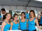 Hard working volunteers - Taste of Greektown in Chicago