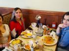 Happy customers at Annie's Pancake House in Skokie