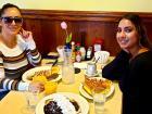 Customers enjoying breakfast at Annie's Pancake House in Skokie