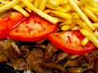 The famous gyros and fries at Billy Boy's Restaurant in Chicago Ridge
