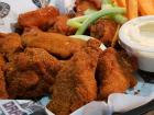 Spicy buffalo wings at Draft Picks Sports Bar in Naperville