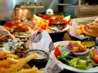 Assortment of delicious items at Draft Picks Sports Bar in Naperville
