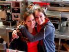 Friendly servers at Teddy's Diner in Elk Grove Village